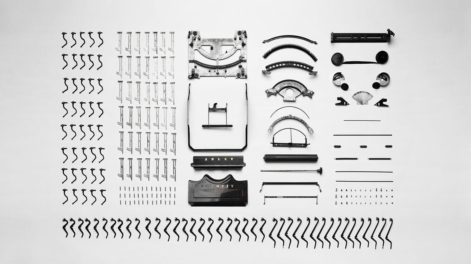 typewrite in pieces